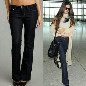 Joe's Jeans Muse Fit Darkwash Denim Flare Jean